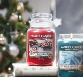 Yankee Candle Large Jar Frosty Gingerbread