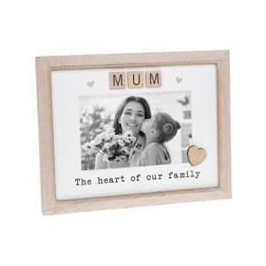 Mum Mother's Day Scrabble Photo Frame
