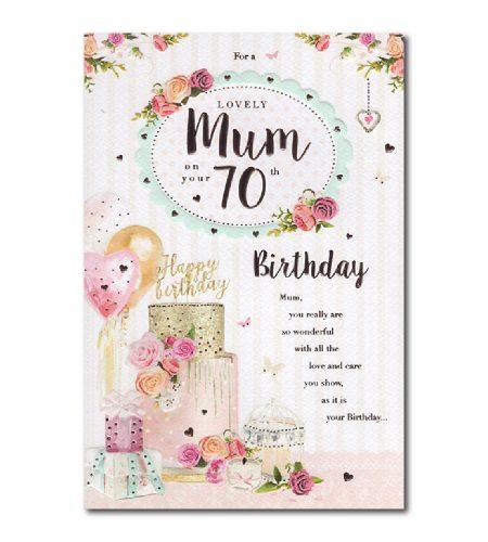 Mum 70th Birthday