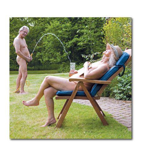 Nude Garden Card