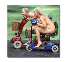 Nude Scooter Card
