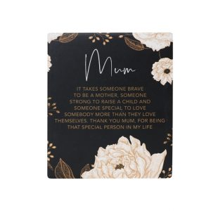 Mother's Day Mum Verse Plaque