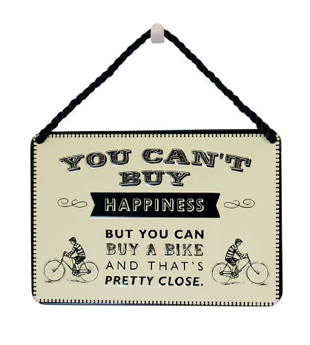 Bike Happiness Plaque
