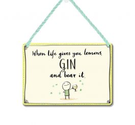 Gin Plaque