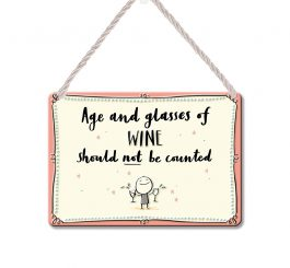 Wine Plaque